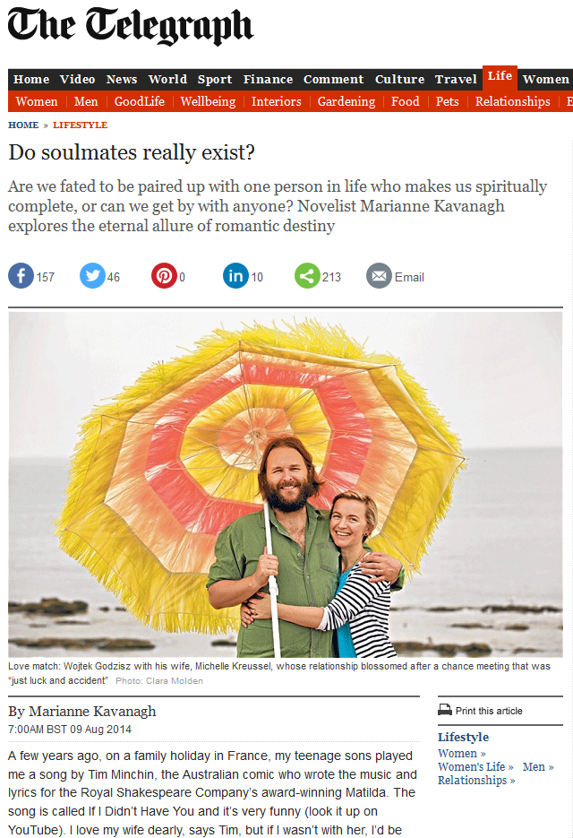 Telegraph soul mates Capture